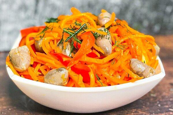 Салат ''Буніто'' з корейською морквою