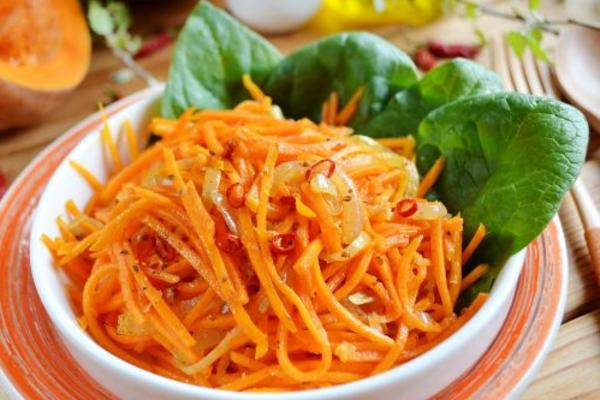 Салат з гарбуза по-корейськи