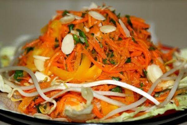 Салат з гарбузом і морквою