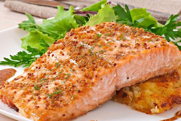 Риба під гірчичним соусом