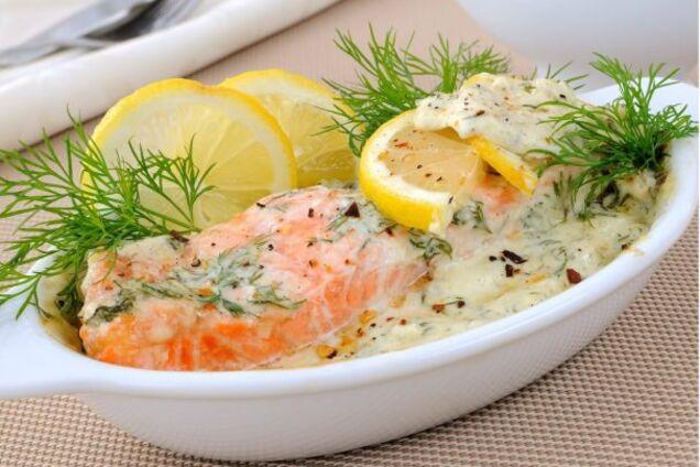 Риба під соусом ''Тартар''