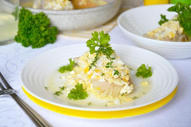 Риба під польським соусом