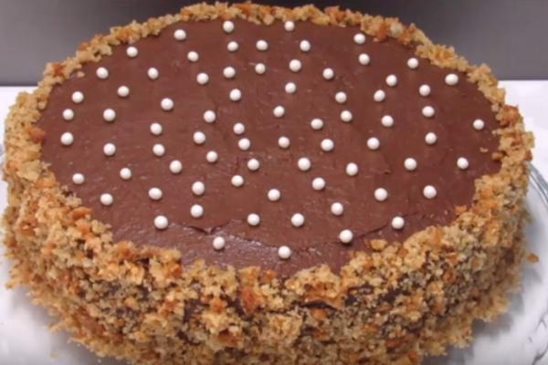 Пісний торт ''Казка''