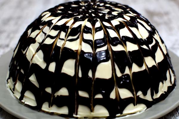 Торт з ананасами без випічки
