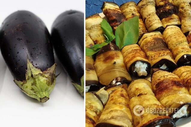 Баклажани з горіхами і кінзою