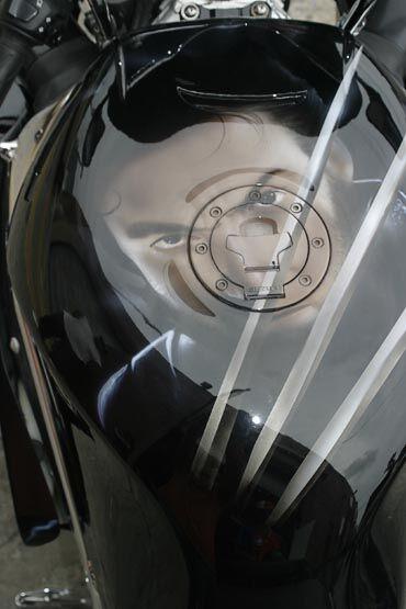 Аерографія на мотоциклах