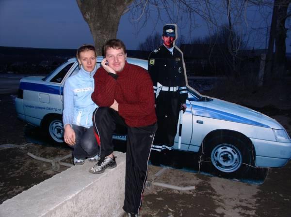 Министру Луценко на заметку. Такие ГАИшники стоят под Екатеринбургом