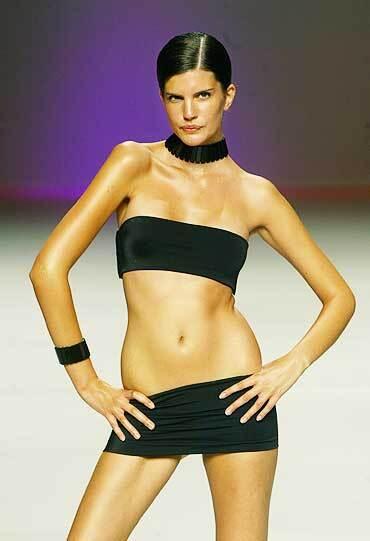 Показ весенне-летней коллекции испанского модельера Vives Vidal