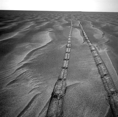 Марсіанські дюни. 16 березня 2005 Наступ марсохода Opportunity