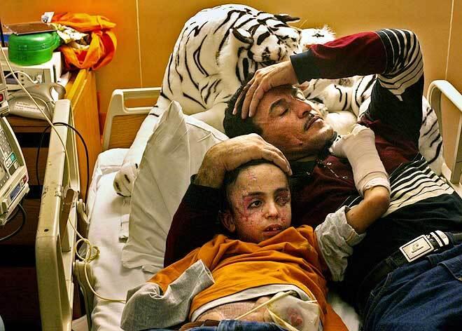 Фотографії-призери Пулітцерівської премії. Страшна реальність війни в Іраку ...