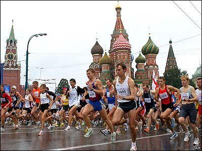 Марафон в Москві