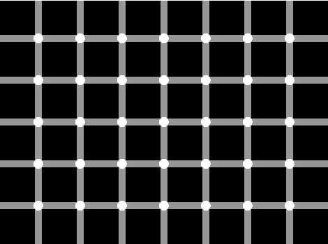 Перевірка на тверезість. Скільки білих точок?
