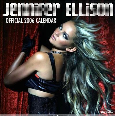 Дженіффер Еллісон. Календар зірки