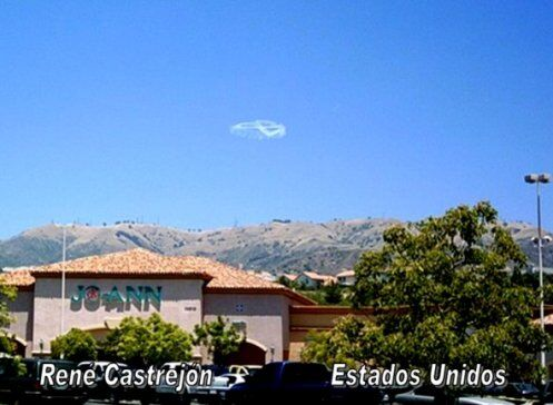Один полицейский в США сфотографировал это в небе