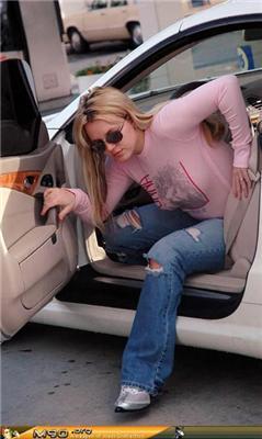 Бритни ещё не отошла после беремености