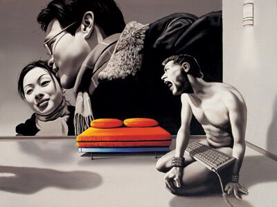 Работы фотохудожника Zhong'a Biao
