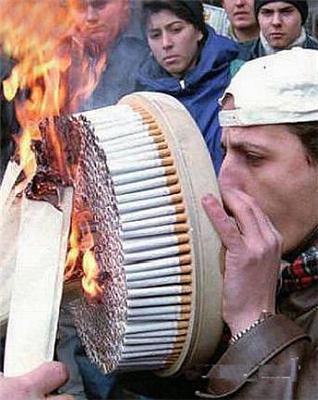 Що він курить?
