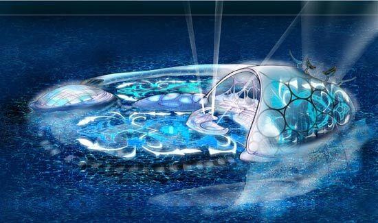 В Эмиратах собираются построить первый подводный отель