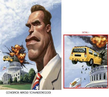 Карикатури знаменитостей