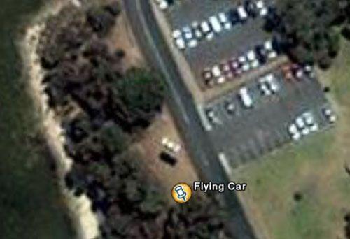 Супутник NASA виявив літаючу машину