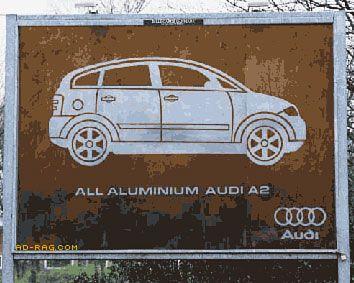 Ауді. Деталі з алюмінію