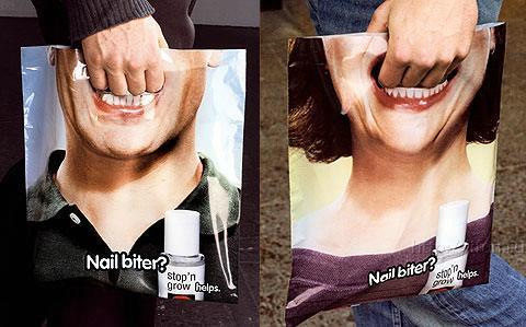 Тримай за пащу рекламу на пакетах ...