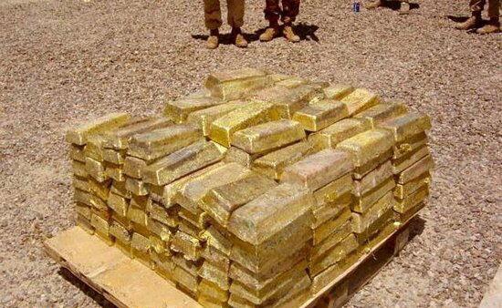 Знайшли золоте сховище Саддама