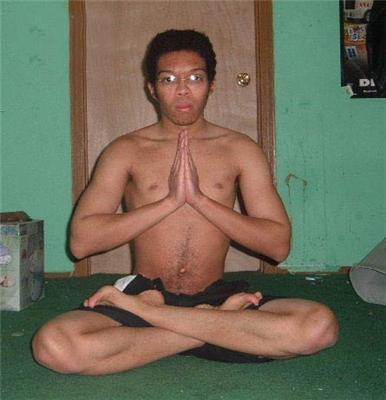 Вибираємо позу для медитації