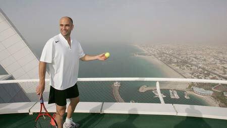 Кувейт - готель Парус - Тенісний корт