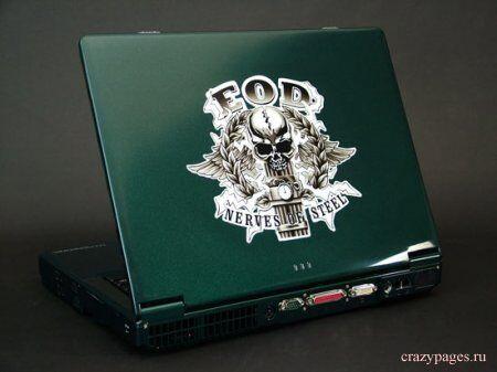 Боевой раскрас ноутбуков...
