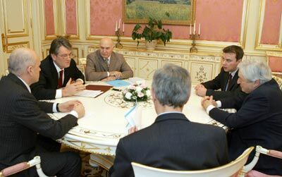 Встреча с бывшим главой Мирового банка Джеймсом Вульфенсоном
