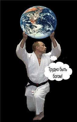 Как расслабляется Владимир Владимирович