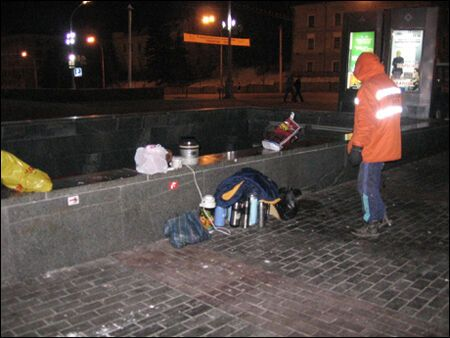 Финал минского Майдана. Фото