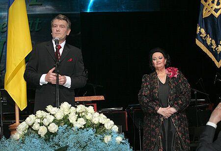 Ющенко прикоснулся к легенде