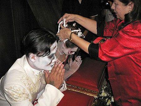 Готичная свадебка
