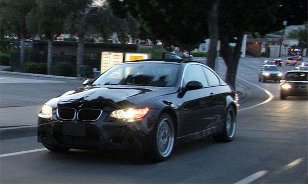 Папарацци поймали новый BMW M3 Coupe