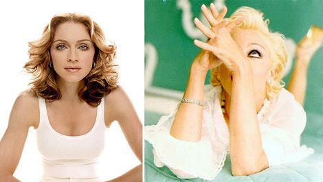 Мадонна - завжди різна! Багато фоток