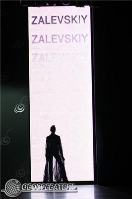 UFW: для показа Залевский залил моделей воском