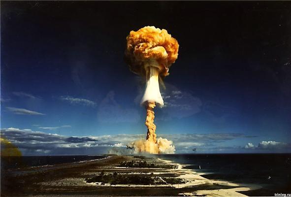 Канопус. Термоядерна бомба Франції. ФОТО і ВІДЕО Армагедону