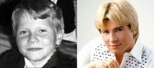 Російські знаменитості в дитинстві і зараз. Дивимося ФОТО