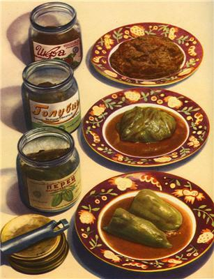 """Рецептег на обедег. """"Пятничный фоторепортаж"""" от 1952 года"""