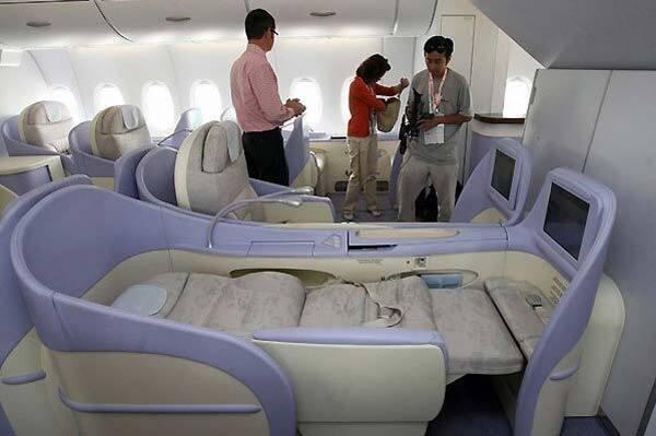 Літак, в якому хотілося б жити. Мегароскошь і шик