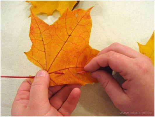 Інструкція дня. Робимо корону з листя. ФОТО