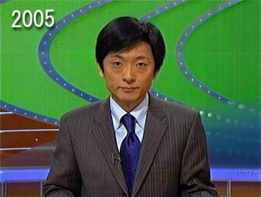 Что это с ним произошло? Эволюция японского ведущего. ФОТО