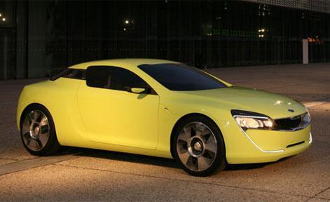 Kia Kee Coupe Concept разбился по дороге на выставку