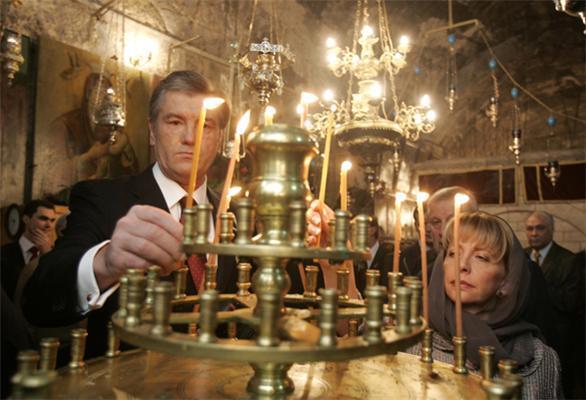 Візит Віктора Ющенка до Ізраїлю