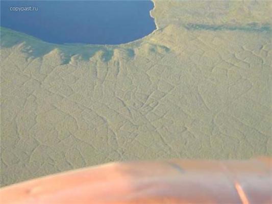 """Озеро """"нетанучого льоду"""" повідає про майбутнє планети. ФОТО"""