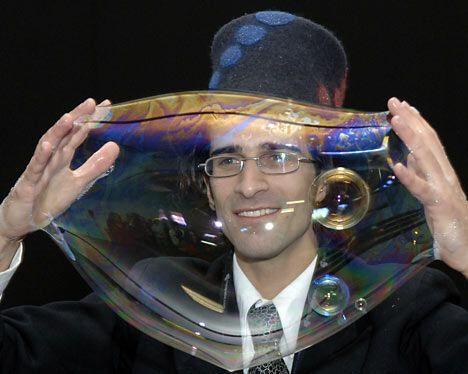 Новий світовий рекорд SamSam BubbleMan.ФОТО. Ось це він дмухнув