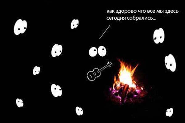 Фотожаба на тему отключенного света в супермаркете. ФОТО