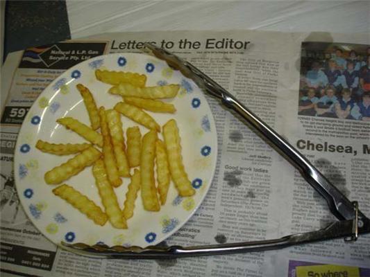 Як зробити картоплю фрі на материнській платі? Фотоінструкцію
